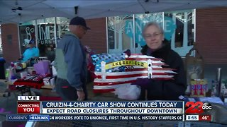 Crusin' 4 Charity car show helping local charities - Video
