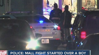Police: Castleton Mall fight started over a boy