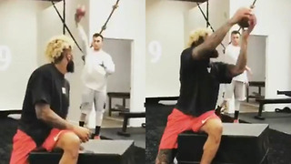 Odell Beckham Jr & Johnny Manziel Help Each Other with Their Comebacks - Video