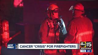 Valley firefighter raising awareness to cancer issues