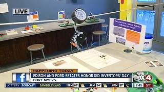 Edison and Ford Winter Estates celebrate National Kid Inventors' Day - 7:30am live report - Video