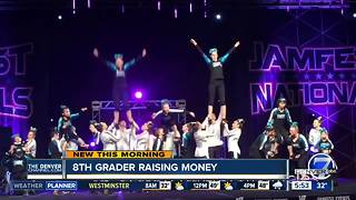 Local 8th grader raising money for special needs cheerleading team