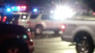 Emergency Services Arrive on Scene After Shooting Outside Jason Aldean Concert Venue - Video