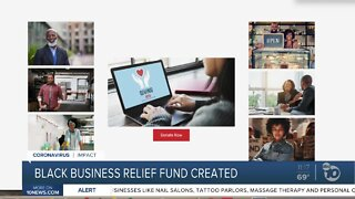 Black business relief fund announced