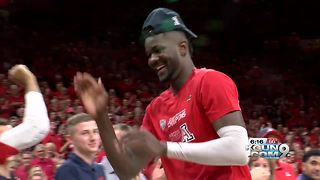 UA freshman Deandre Ayton named PAC-12 Player of the Year - Video