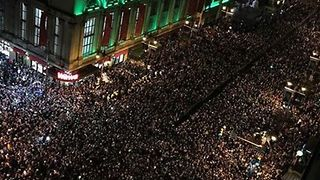 Philadelphia Streets Packed as Eagles Fans Celebrate Super Bowl Win