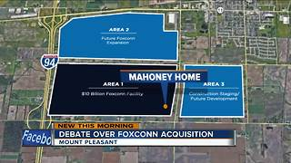Landowners ready for Foxconn public hearing Tuesday - Video