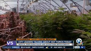 West Palm Beach Commission scheduled to vote on medical marijuana dispensaries - Video