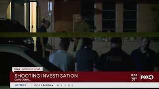 Shooting investigation in Cape Coral