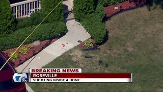 Shooting inside a Roseville home