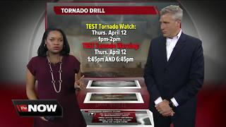 Geeking Out: Tornado drill - Video