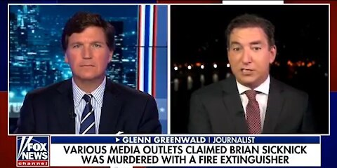 """Glenn Greenwald: """"The corporate media lies to you constantly..."""""""