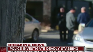 Police Investigating Deadly Stabbing - Video