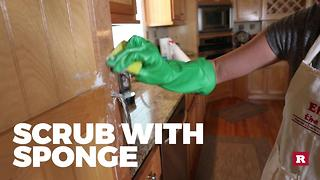 How to degrease your cabinets - Video