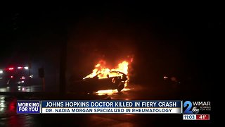 Johns Hopkins Doctor Killed in Fiery Hit and Run