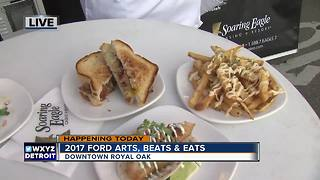 Checking Out The Food at Art, Beats & Eats - Video