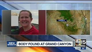 Crews locate body of missing woman at Grand Canyon - Video
