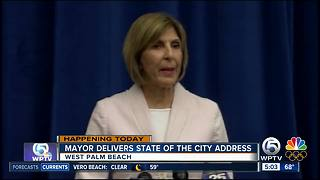 West Palm Beach mayor to deliver 'State of the City' address - Video