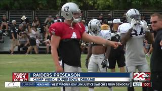 23ABC Camp Week: Carr eyes Super Bowl in Oakland - Video