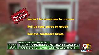 What to do BEFORE flooding rains enter your home - Video
