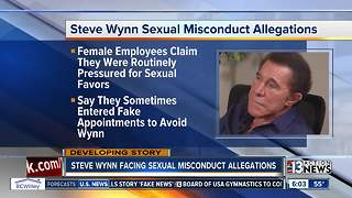 Report: Steve Wynn accused of sexual misconduct - Video