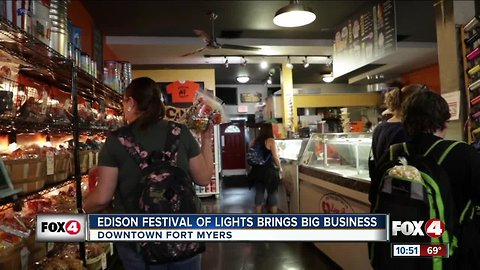 Edison Festival of Light draws crowds to downtown businesses
