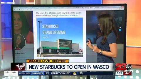 Starbucks Opening in Wasco