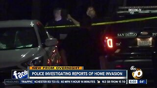 Police investigating reports of downtown home invasion