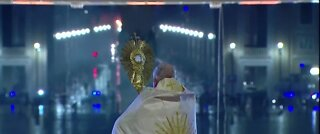 Pope Francis asks world to come together during pandemic