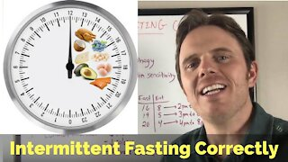 Intermittent Fasting Correctly | Common Intermittent Fasting Mistakes