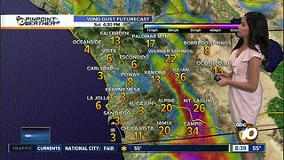 10News Pinpoint Weather for Sat. Jan. 26, 2019