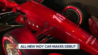The new Indy car makes its debut at the North American International Auto Show - Video