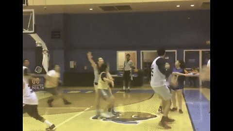 Basketball Player Volleys Team to Semi-Finals With Amazing Backwards Shot