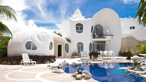 You Could Stay in a Giant Seashell in Mexico