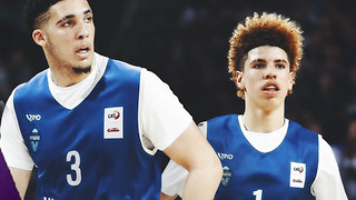 LaMelo & LiAngelo Ball Get NO Love from Lithuania Fans - Video