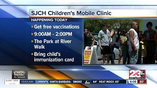 San Joaquin Community Hospital Children's Mobile Immunization Clinic, Free immunizations - Video