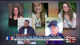Services for NSU crash victims - Video