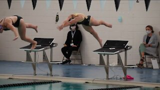Franklin swim back in state competition