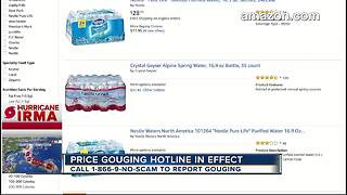 Fla. Attorney General calls price gouging 'disgusting' ahead of Hurricane Irma - Video
