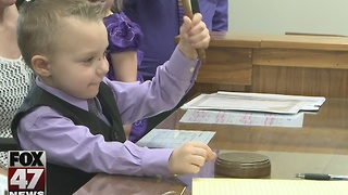 Michigan hosts Adoption Day - Video