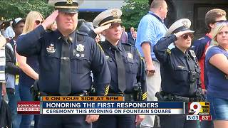 Honoring the first responders - Video