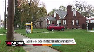 Livonia home to second hottest real estate market in US - Video
