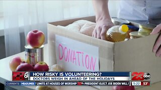 How risky is volunteering during the pandemic?