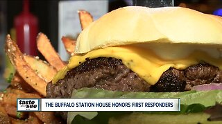 Sound the alarm! New restaurant opens to honor first responders