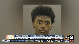 16-year-old arrested after man assaulted, robbed in Baltimore - Video
