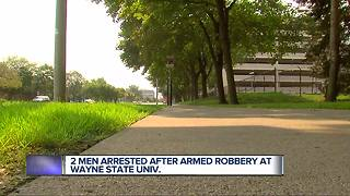 Wayne State student robbed at gunpoint near Detroit Medical Center - Video