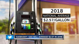 Gas Buddy:  Expect High Prices in 2018 - Video