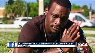 Friends and family honor Jamal Hubert who was murdered