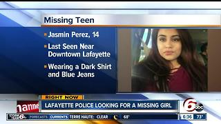 Lafayette police looking for missing 14-year-old - Video
