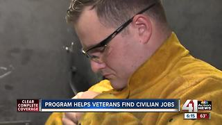 Program helps veterans find civilian jobs